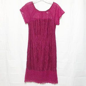 Simply Styled Crochet Lace Dress NWT